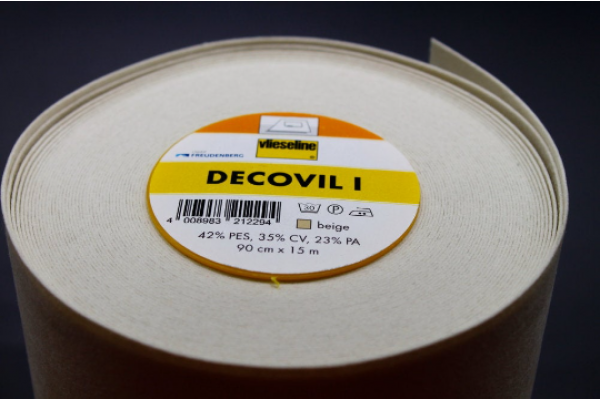 Decovil I - Original, Fusible Interlining - Heavier Iron-on Interlining.