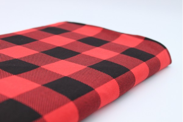 Jersey - Black and Red Check