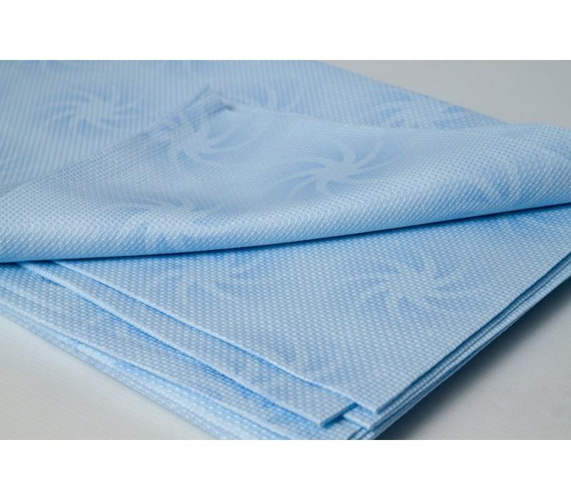 Waffled Texture Fabric - 100%  Egyptian Cotton, Pattern - Summer Swirls